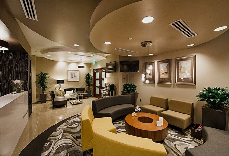 Hobgood Facial Plastic Surgery Waiting Area in Scottsdale