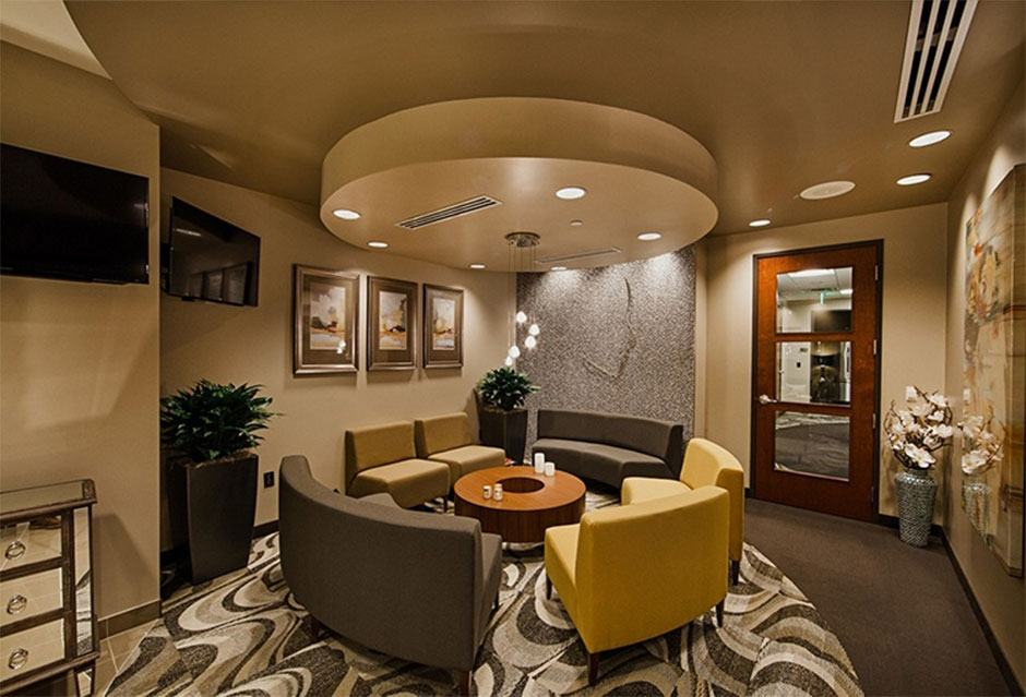 Hobgood Facial Plastic Surgery Waiting Area Entrance in Scottsdale