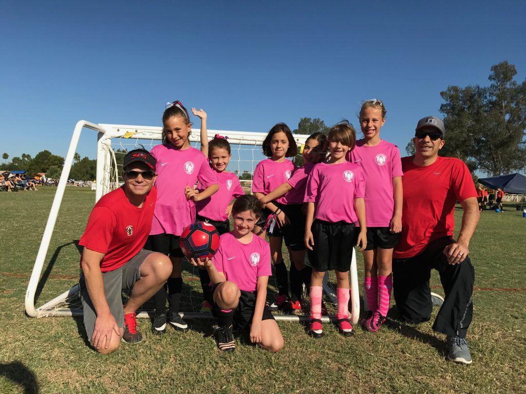 Plastic surgeon Todd Hobgood coaching soccer