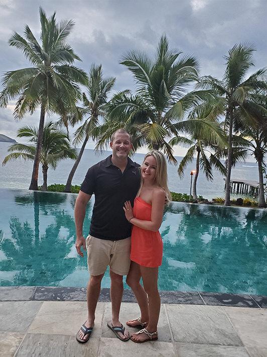 Ashley in Fiji